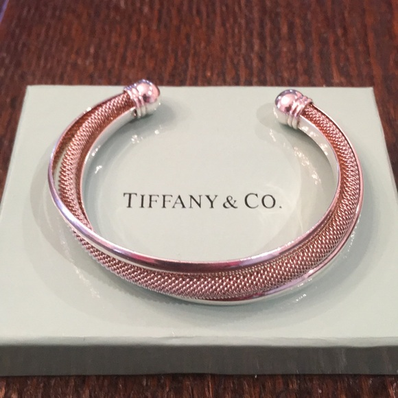 f554bfbc4 ... mesh and polished cuff bracelet. Tiffany & Co.  M_5a844197a44dbebbc27b3fc8. M_5a8441b372ea88efe7352dd3